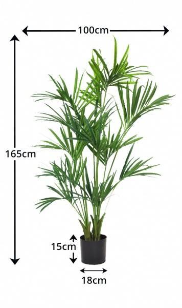 Kunstig Kentia Palme 165cm