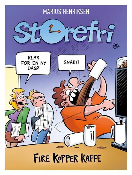 Bilde av Storefri - Fire kopper kaffe SIGNERT