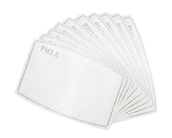 Bilde av 10 stk karbonfilter til munnbind