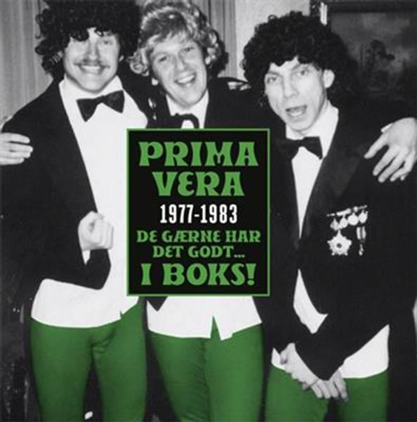 Bilde av Prima Vera - 1977-1983 - De gærne har det godt… i boks! (8CD)