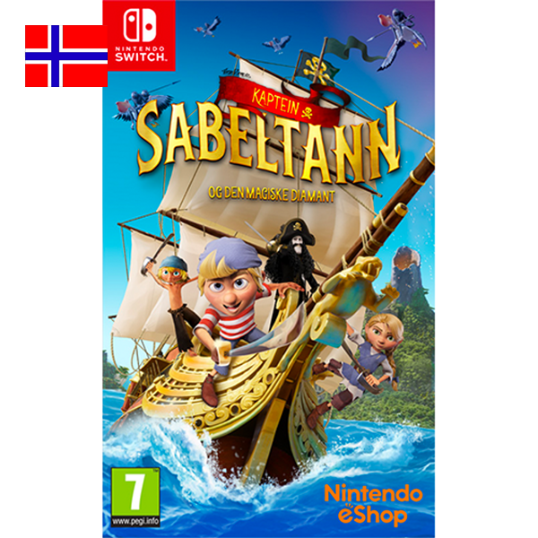 Bilde av Kaptein Sabeltann og den magiske diamant til Nintendo Switch
