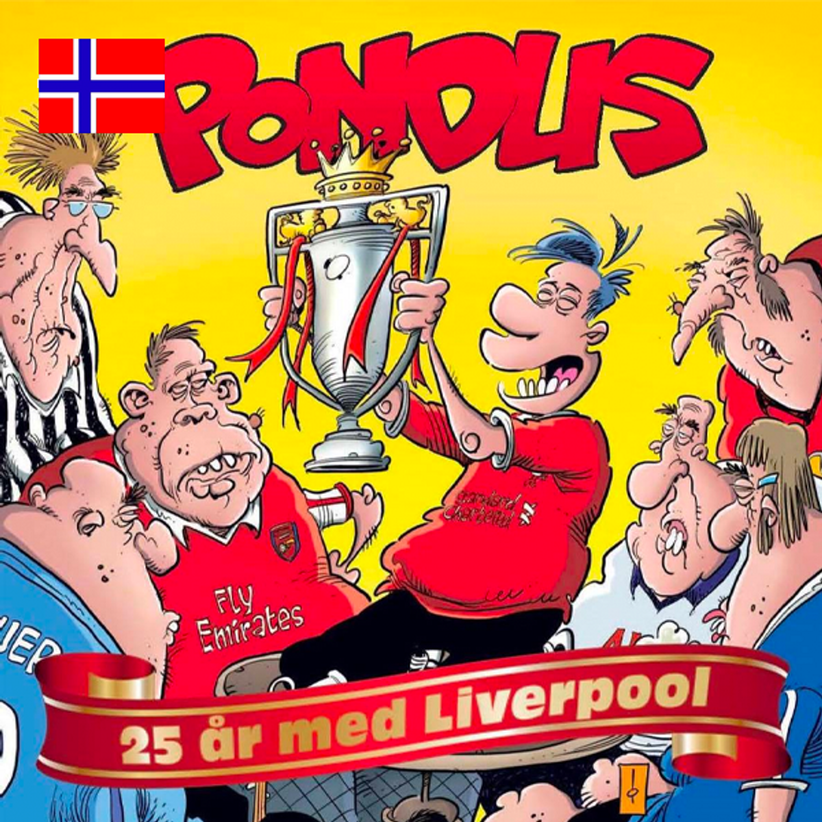 Pondus – 25 år med Liverpool