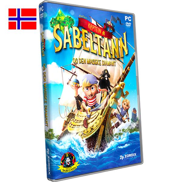 Bilde av Kaptein Sabeltann og den magiske diamant til PC/DVD-rom
