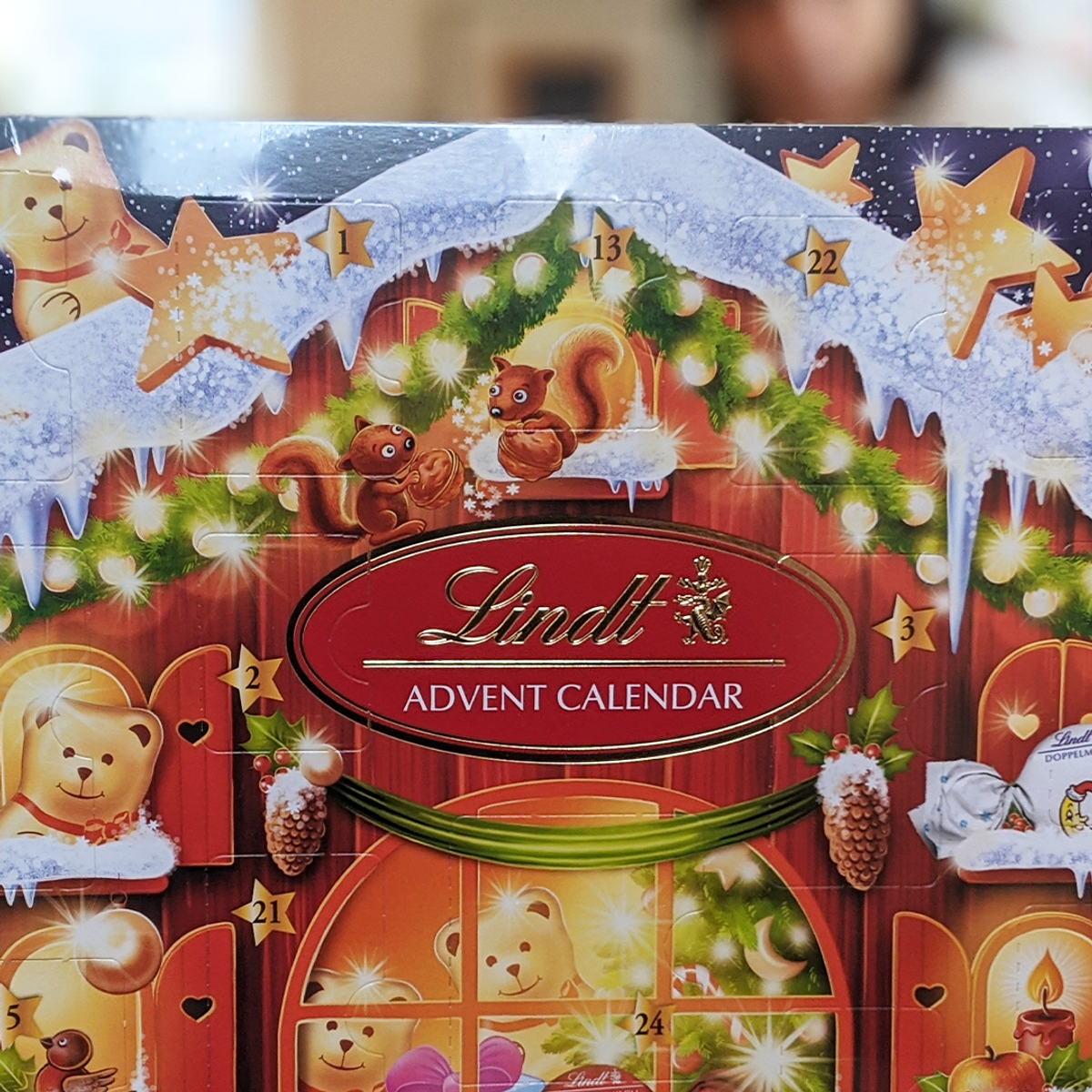 Lindt Teddy adventskalender 2020
