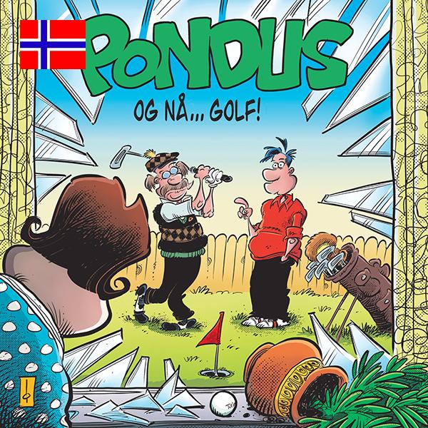 Bilde av Pondus – Og nå … golf!