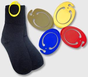Bilde av CLIP-IT Sokkeklype-Holder sokkeparet samlet