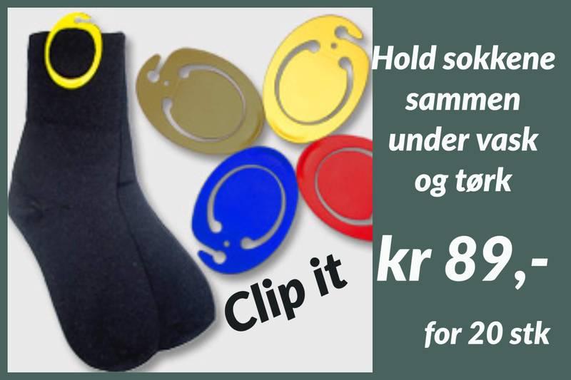 Clip it sokkeklyper