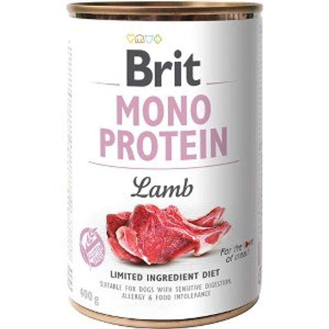 Bilde av Brit Mono protein lam 400g