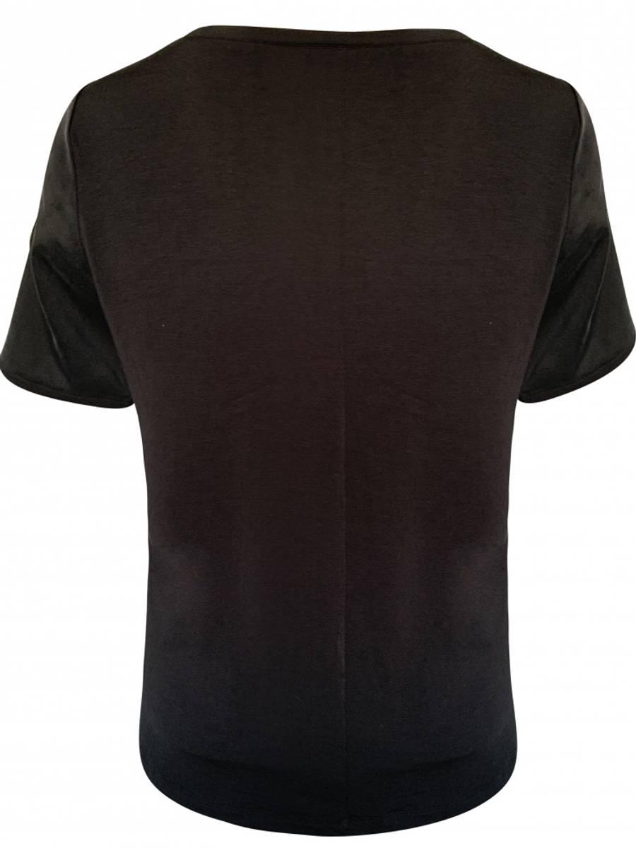 Amuse Silke T-Shirt Aria Black