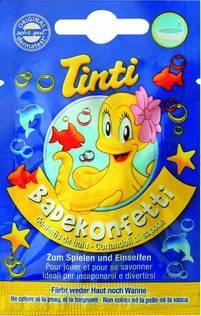 Tinti Bath Confetti 3 pack - 10 i kolli