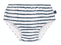 Lässig Badebleie gutt, Blå striper