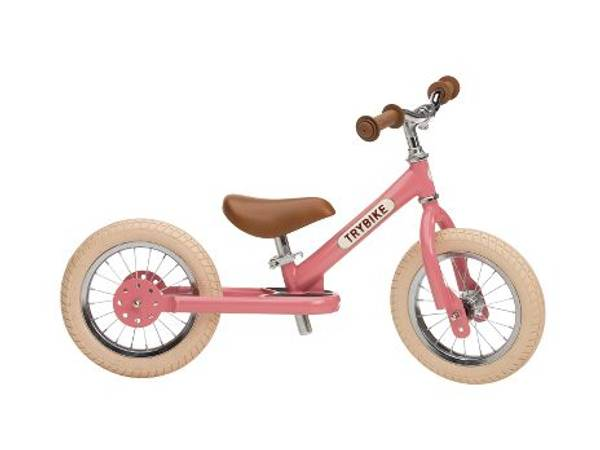 Bilde av Trybike 2 hjul sykkel Rosa