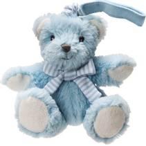 1710098HAB bear barnevogns bamse lyseblå