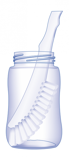 Bilde av nip 2in1 børste - flaske +