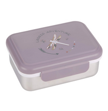 Lunchbox stainless steel Dragonfly