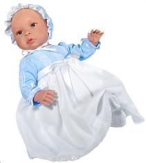 ASI LEO med todelt blå dåpskjole