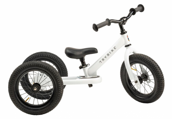 Bilde av Trybike 3 hjul Hvit - 2020