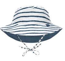 LSF Sun Protection Bucket Hat Stripes navy,