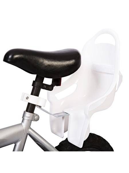 Bilde av Sykkelsete til dukke - hvit