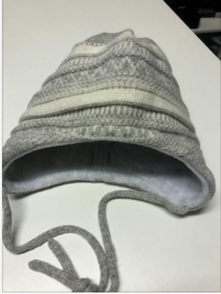 Bilde av Maximo grå og hvit babylue