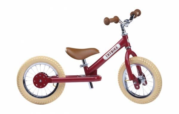Bilde av Trybike 2 hjul sykkel rød