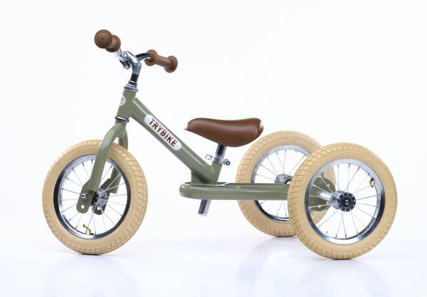 Bilde av Trybike 3 hjul dusty grønn