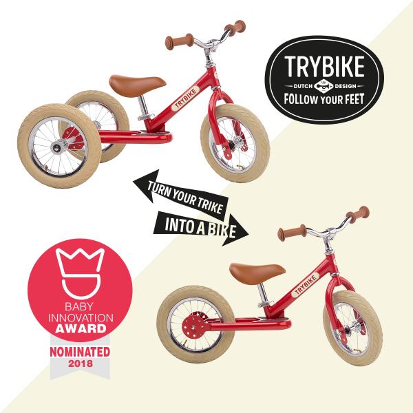 Bilde av Trybike 3 hjul rød
