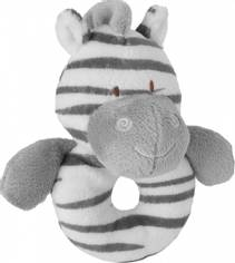 Zooma Zebra Ring Rattle
