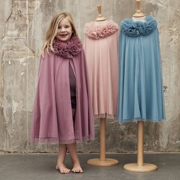 Bilde av 84166 Tyll Cape Dust rose 3-5