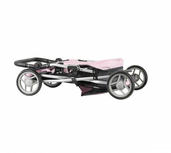 Bilde av 84123 Dypvogn grå og rosa