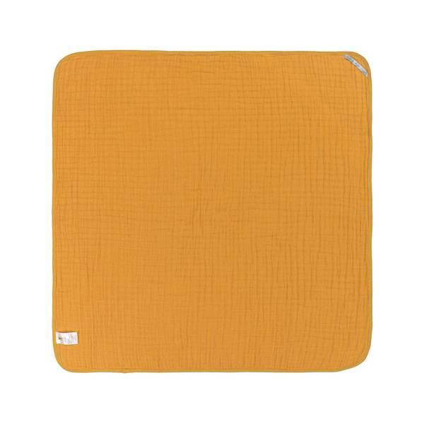 Bilde av Muslin Hooded Towel mustard