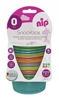 NIP Snack bokser - 6 pakk