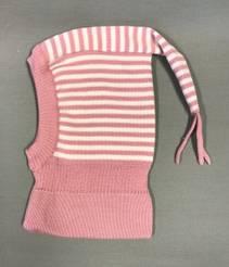 Balaklava, Hvit/rosa stripete