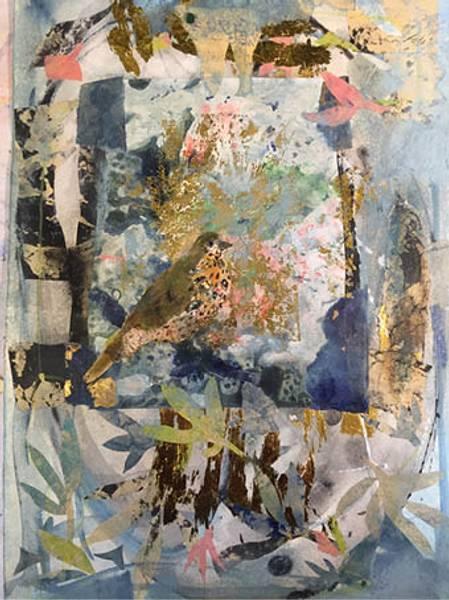 Bilde av Maud Bugge kunstkort SPRING