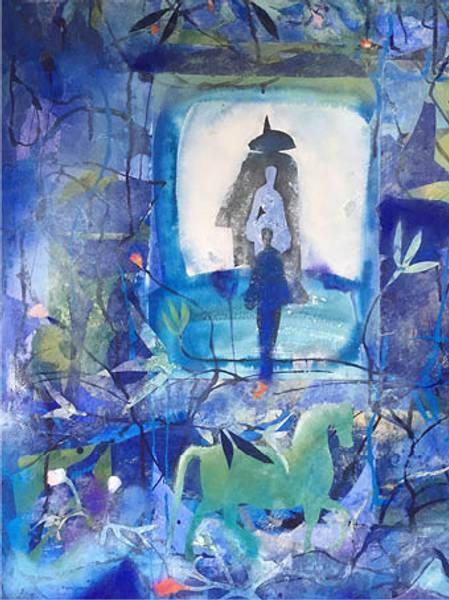 Bilde av Maud Bugge kunstkort THE JOURNEY
