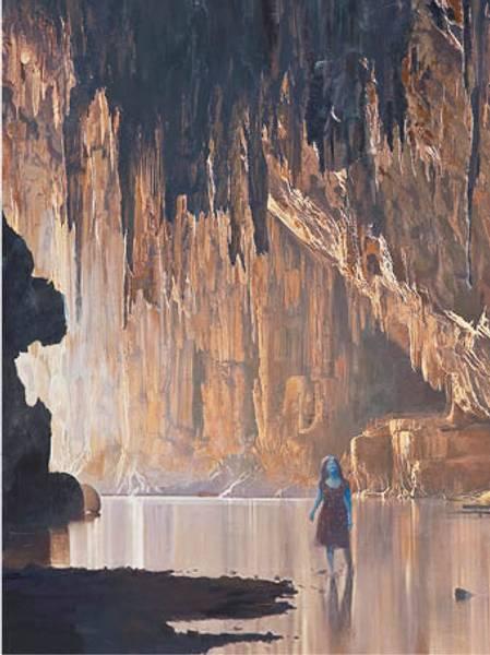 Bilde av Calina Pandele Yttredal kunstkort THE CAVE