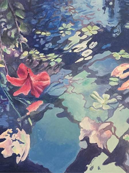 Bilde av Calina Pandele Yttredal kunstkort AT THIS MOMENT