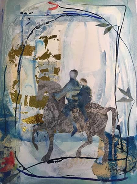 Bilde av Maud Bugge kunstkort THE RETURN