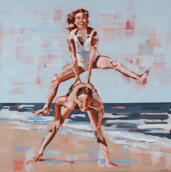 Bilde av LOVE kunst av ELI HASSEL