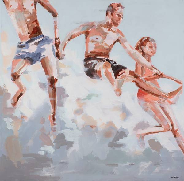 Bilde av IN THE AIR kunst ELI HASSEL