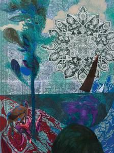 Bilde av The black sail kunstkort SVERRE BJERTNÆS