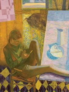 Bilde av HANNA MARIA kunstkort SVERRE BJERTNÆS