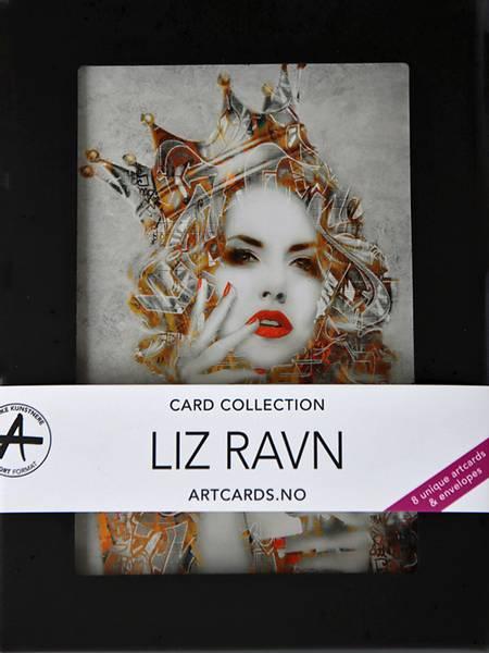 Bilde av LIZ RAVN Kunstkort-eske