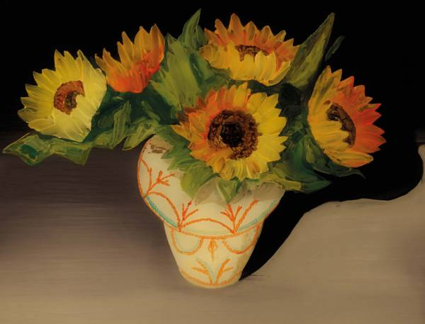 Bilde av ULF NILSEN Sunflowers