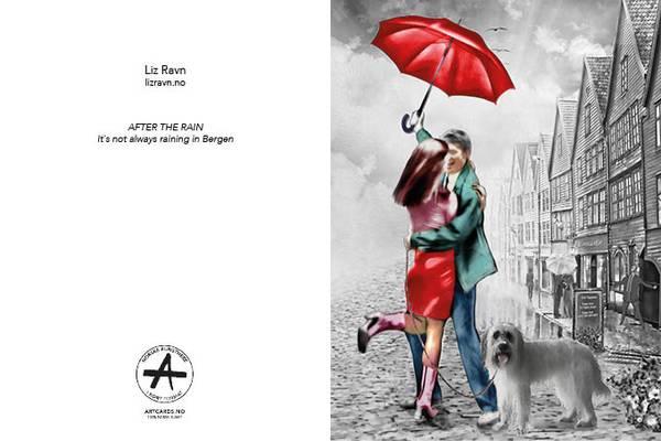 Bilde av LIZ RAVN After the rain, kunstkort