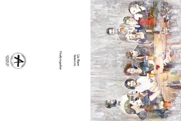 Bilde av LIZ RAVN Finally together, kunstkort
