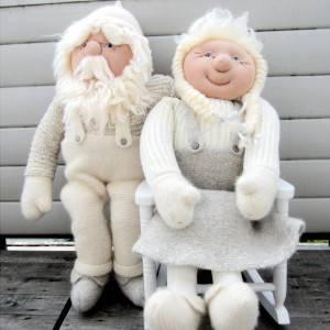 Bilde av Kjempenisse kone