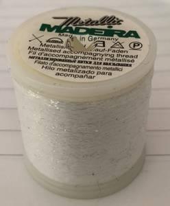 Bilde av Madeira metallic 390 hvit