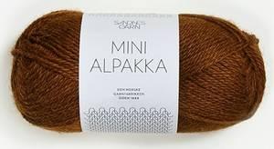 Bilde av Mini Alpakka 2564 Gyllenbrun
