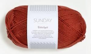 Bilde av Sunday 3536 Petite Knit Brick